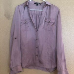 Silky lilac blouse